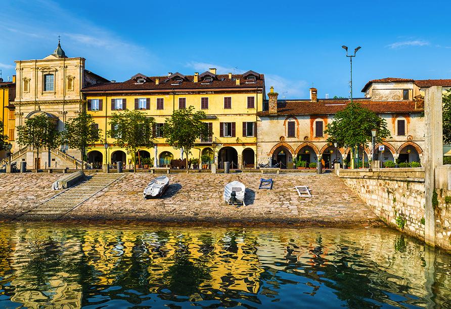 Hotel Concorde in Arona Lago Maggiore Italien, Arona Seeufer