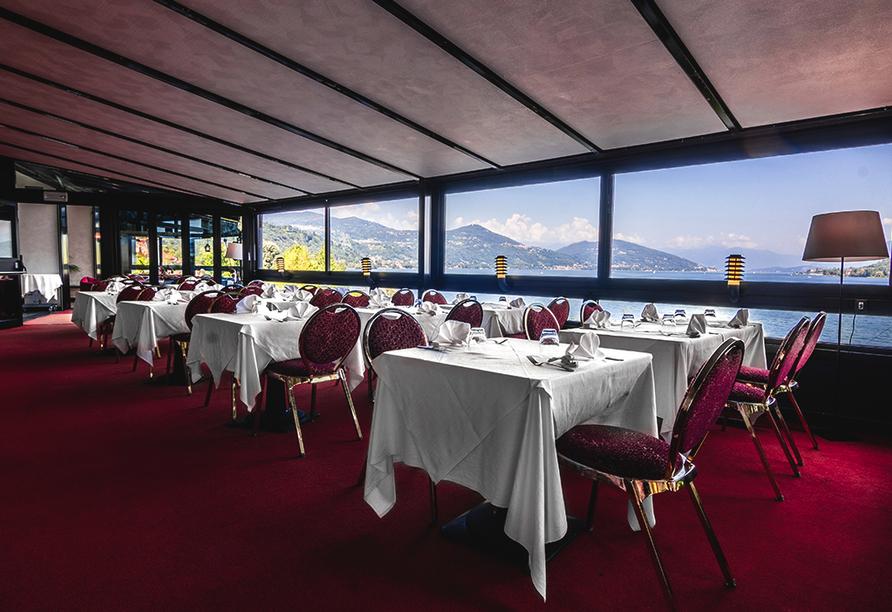 Hotel Concorde in Arona Lago Maggiore Italien, Restaurant