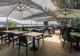 Hotel Concorde in Arona Lago Maggiore Italien, Terrasse