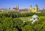 Star G Hotel München Schwabing in Bayern, Hofgarten