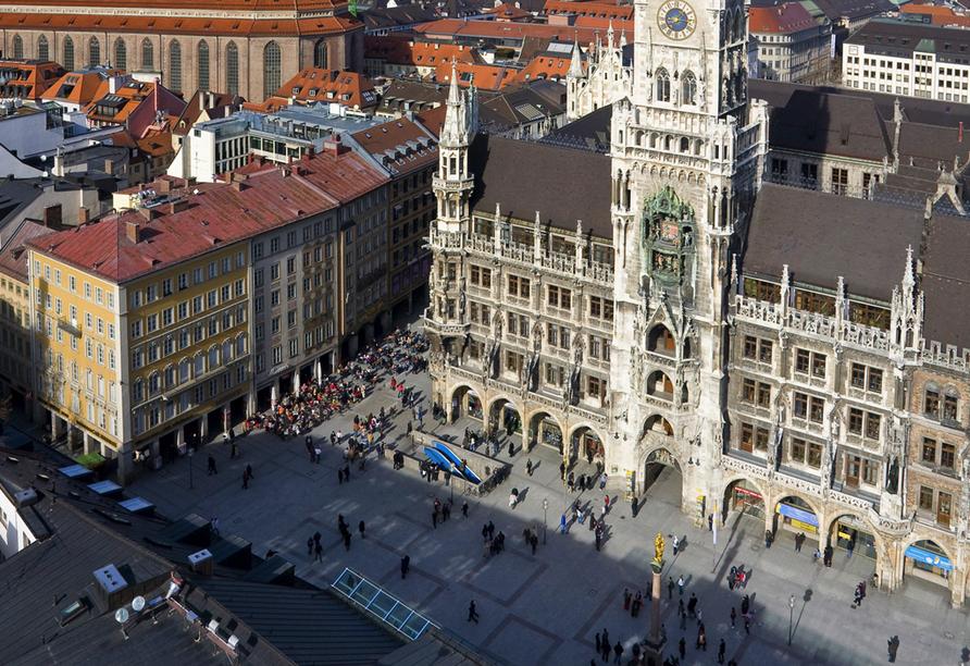 Star G Hotel München Schwabing in Bayern, Marienplatz und Frauenkirche