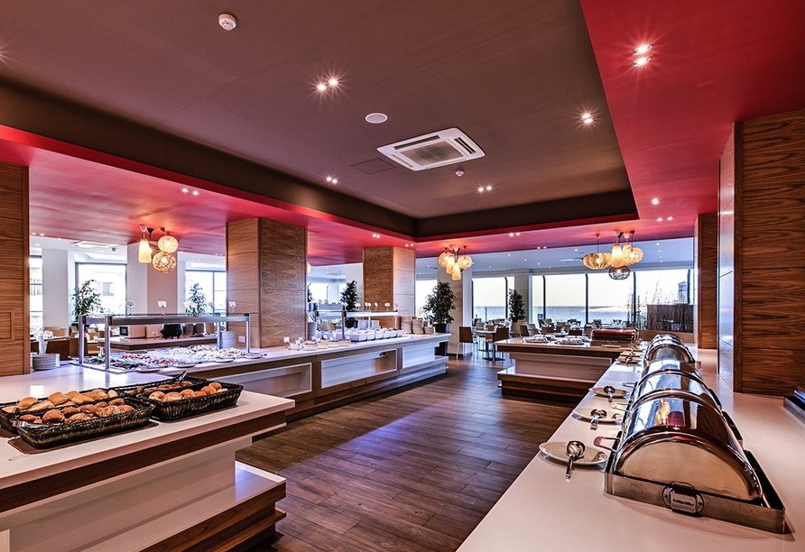 Hotel Seashells Resort at Suncrest, Restaurant