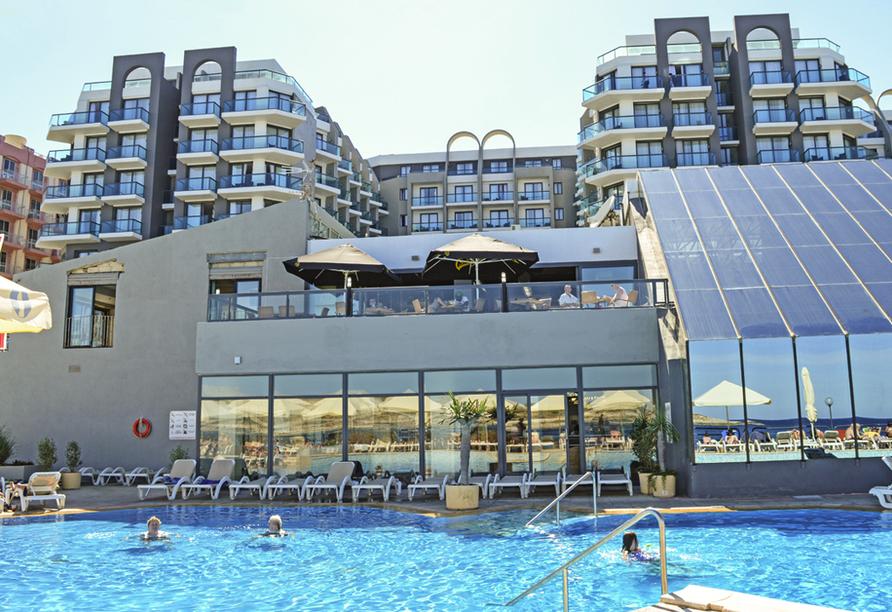 Hotel Seashells Resort At Suncrest, Außenansicht