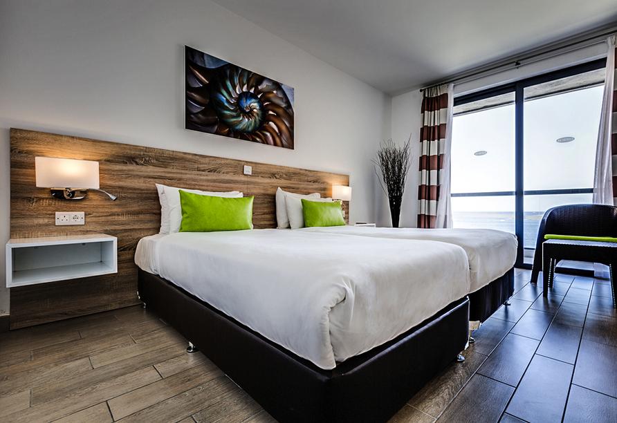 Hotel Seashells Resort at Suncrest, Zimmer