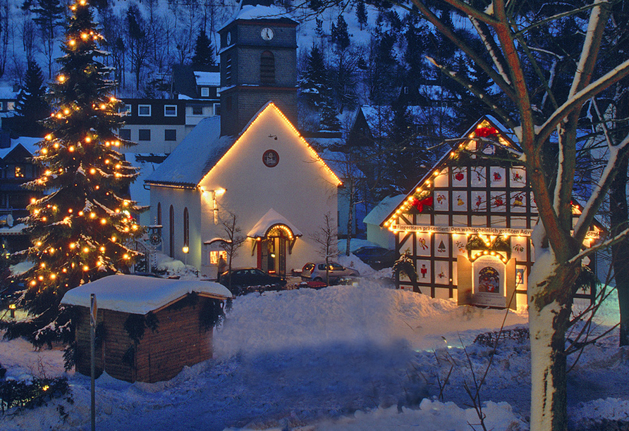 Hotel Waldhaus am See, Willingen Adventszeit