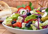 Entdeckerreise Chalkidiki, griechischer Salat