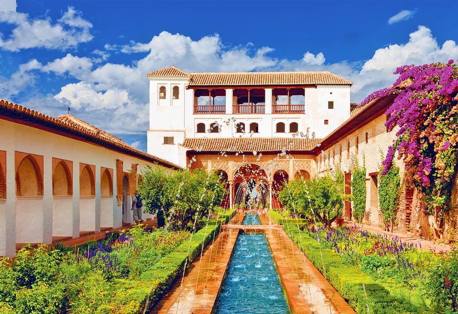 Hotel Monarque Fuengirola Park in Andalusien, Generalife Gärten