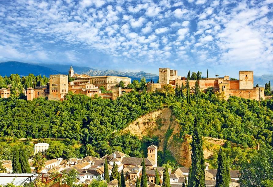 Hotel Monarque Fuengirola Park, Alhambra in Granada