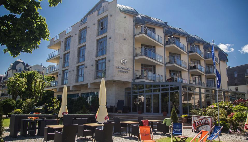 Avangard Resort in Swinemünde, Außenansicht