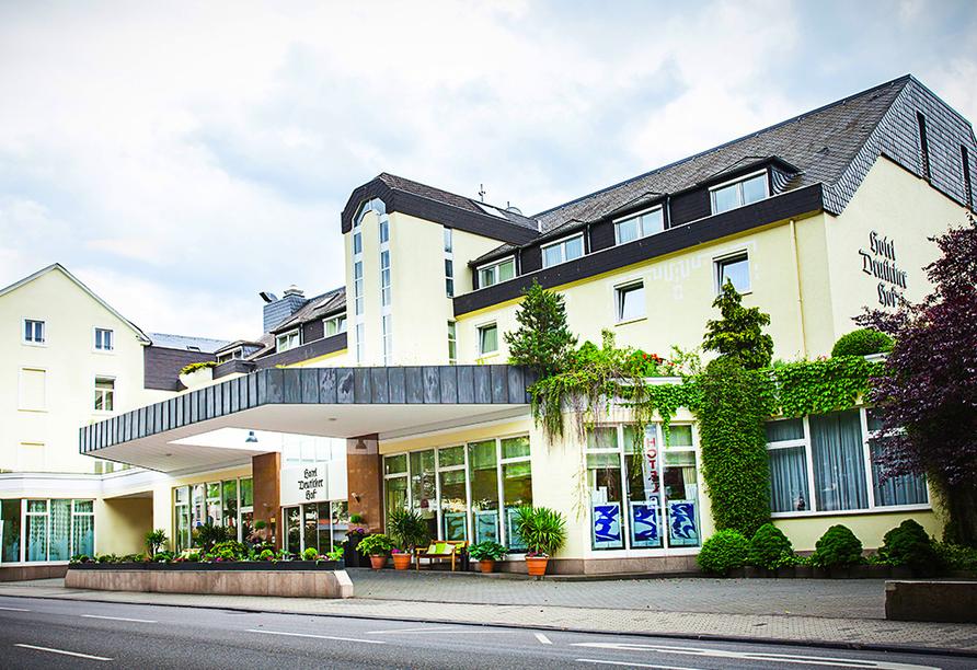 Hotel Deutscher Hof in Trier, Aussenansicht