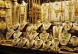 Entdeckerreise Dubai und Abu Dhabi, Goldwaren
