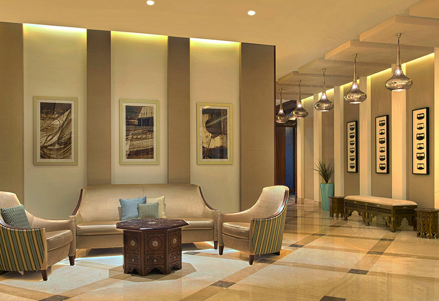 Entdeckerreise Dubai und Abu Dhabi, Eingangsbereich