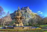 Kurzreise Schottland, Schloss