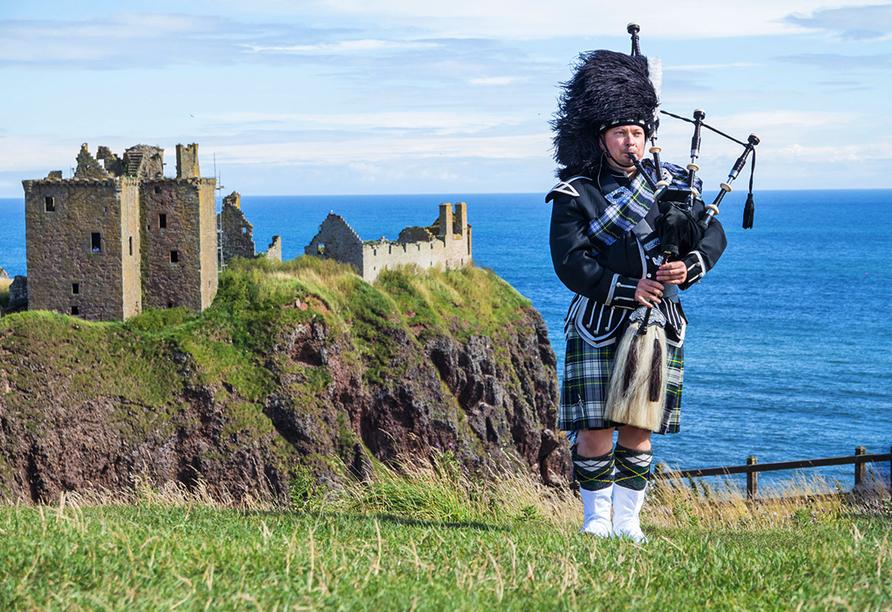 Kurzreise Schottland, Schotte