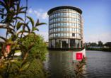 Hollands Tulpenblüte erleben, Außenansicht Hotel