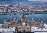 Erleben Sie das schöne Budapest im Winter.