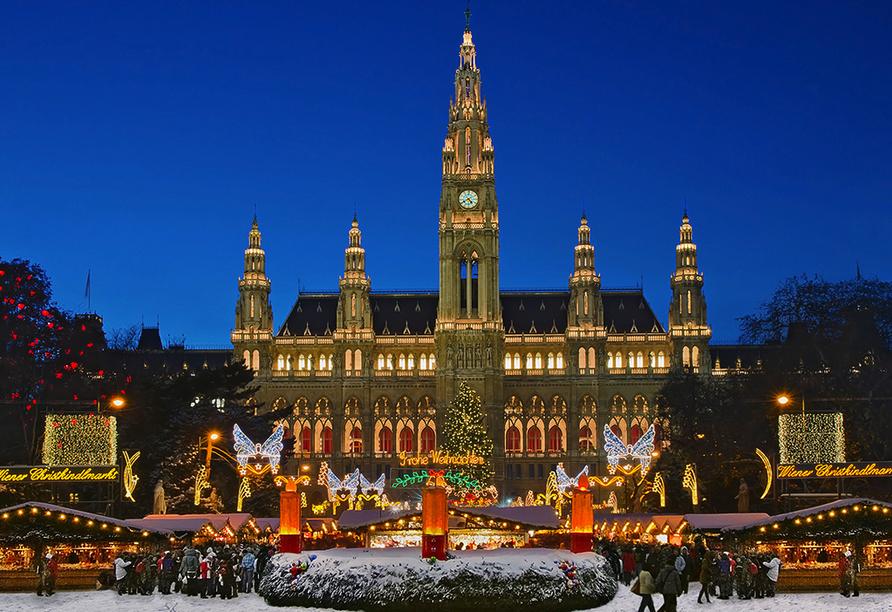 In Wien startet Ihre Reise.