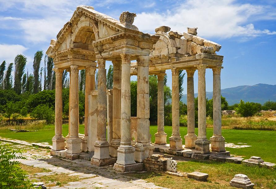 Celestyal Olympia, Tempel der Aphrodite in Kusadasi