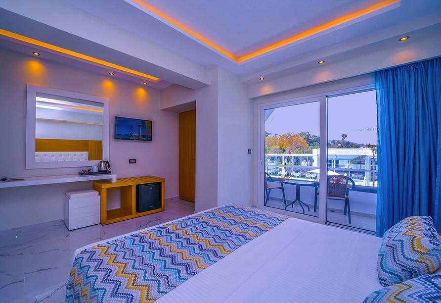 Hotel Oceanis Park in Ixia, Rhodos, Griechenland, Zimmerbeispiel