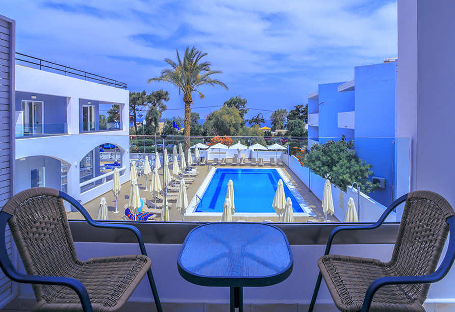 Hotel Oceanis Park in Ixia, Rhodos, Griechenland, weiterer Pool
