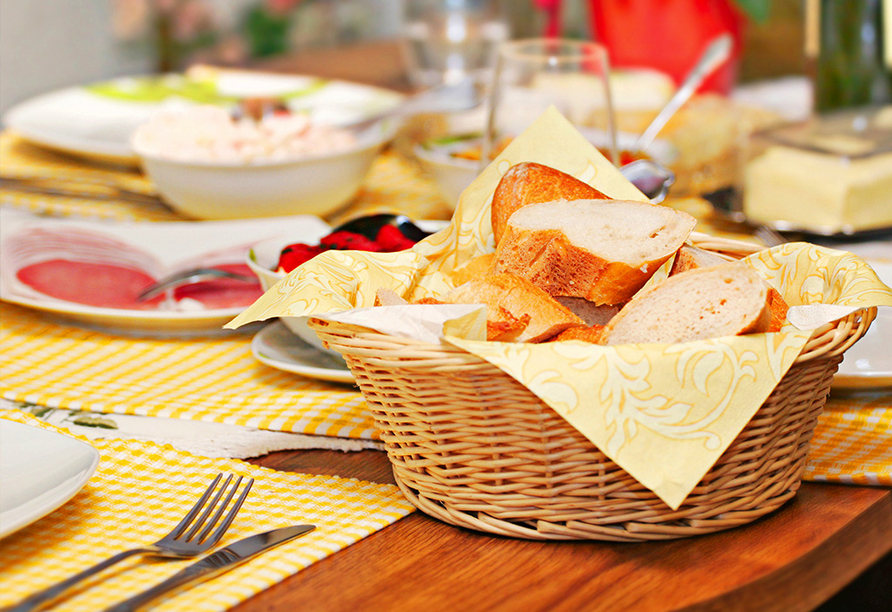 Hotel Trias, Frühstück