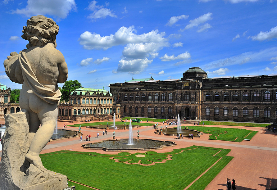 Wyndham Garden Dresden, Zwinger