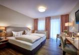 Hotel Herzog Heinrich, Beispiel Doppelzimmer Ahorn