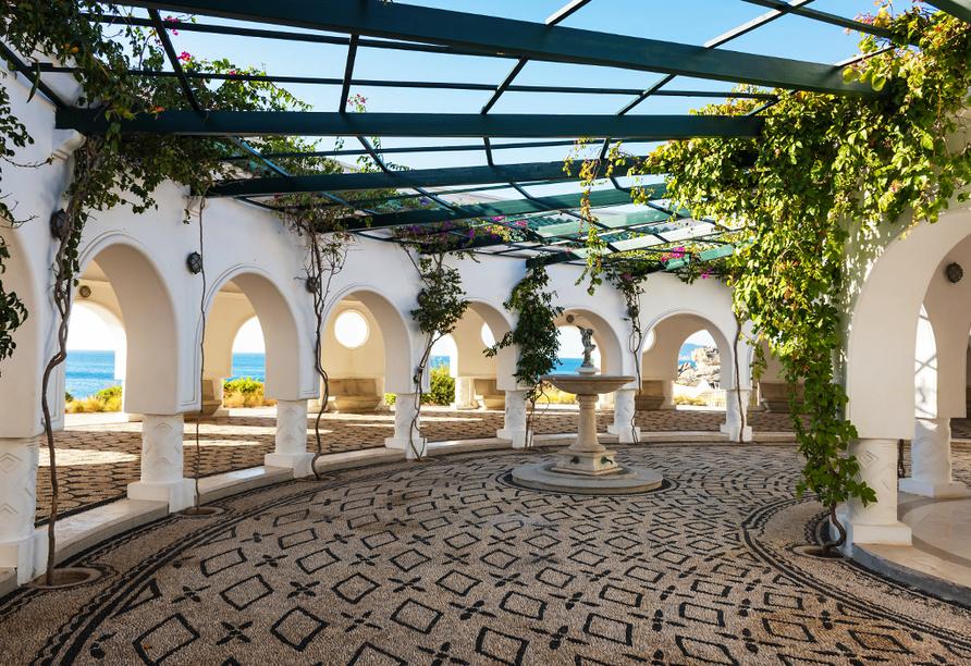 Hotel Niriides in Kolymbia, Rhodos Griechenland, Thermen von Kalithea