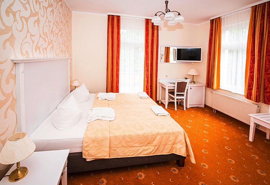 Ostseehotel Villen im Park in Bansin, Zimmerbeispiel