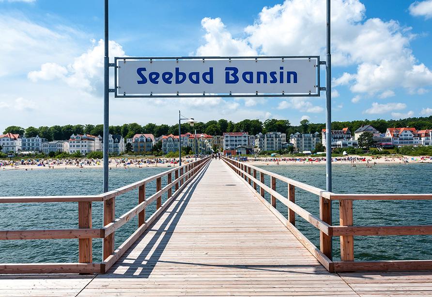 Ostseehotel Villen im Park in Bansin, Seebrücke Bansin