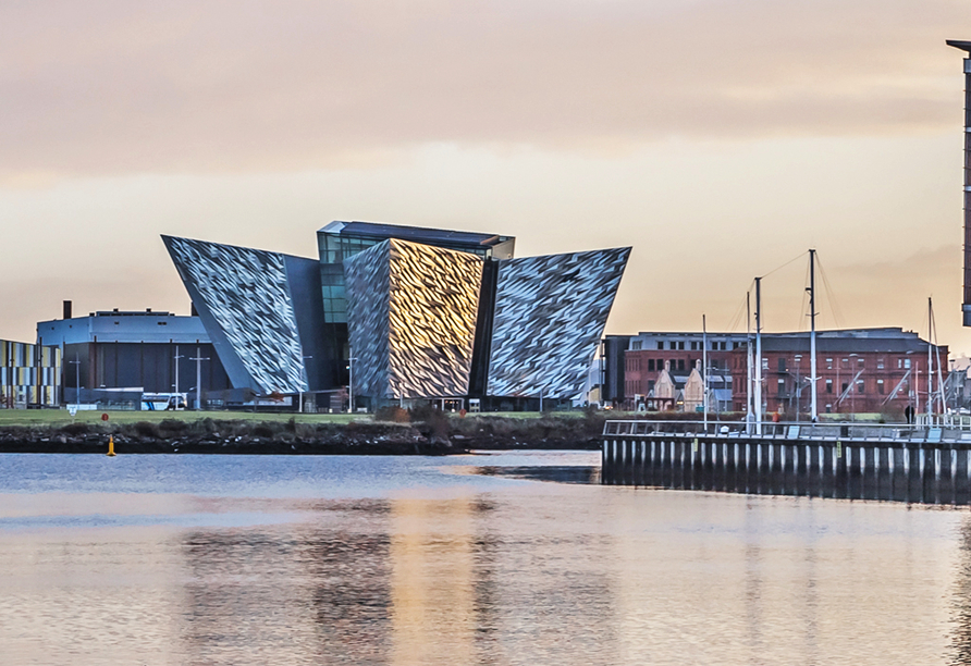 Rundreise Nordirland, Titanic-Museum in Belfast