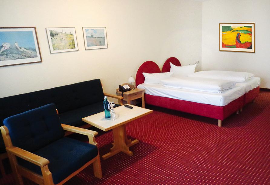 Morada Hotel Bad Wörishofen, Beispiel Doppelzimmer