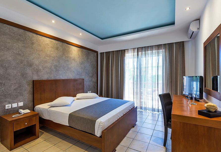 Hotel Gaia Royal in Mastichari, Beispiel eines Doppelzimmers