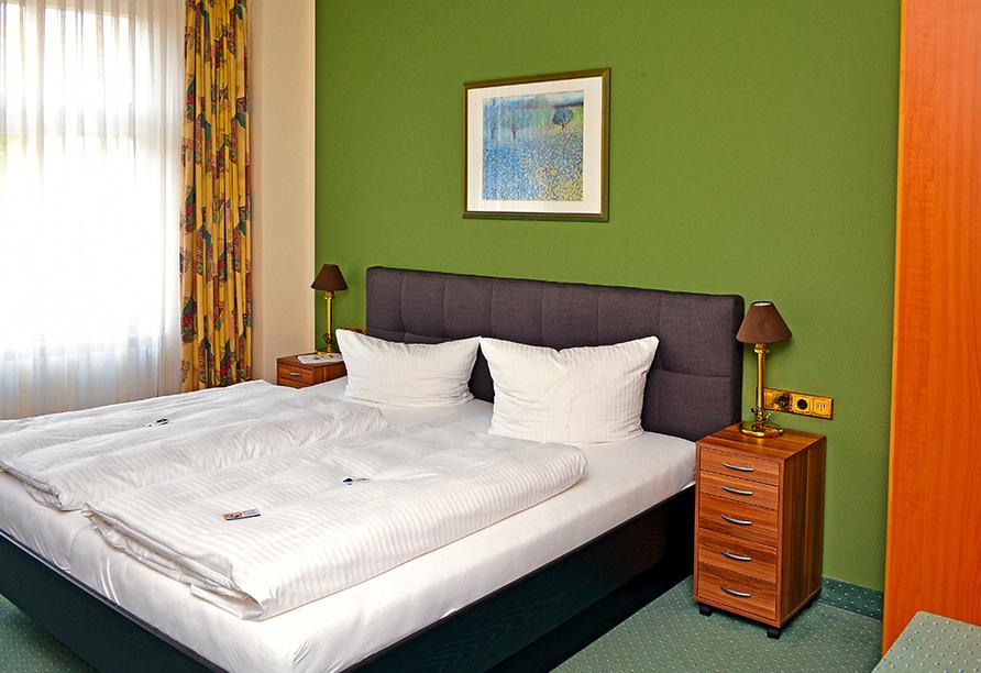 Hotel Kaiserhof in Fürstenwalde, Beispiel Doppelzimmer