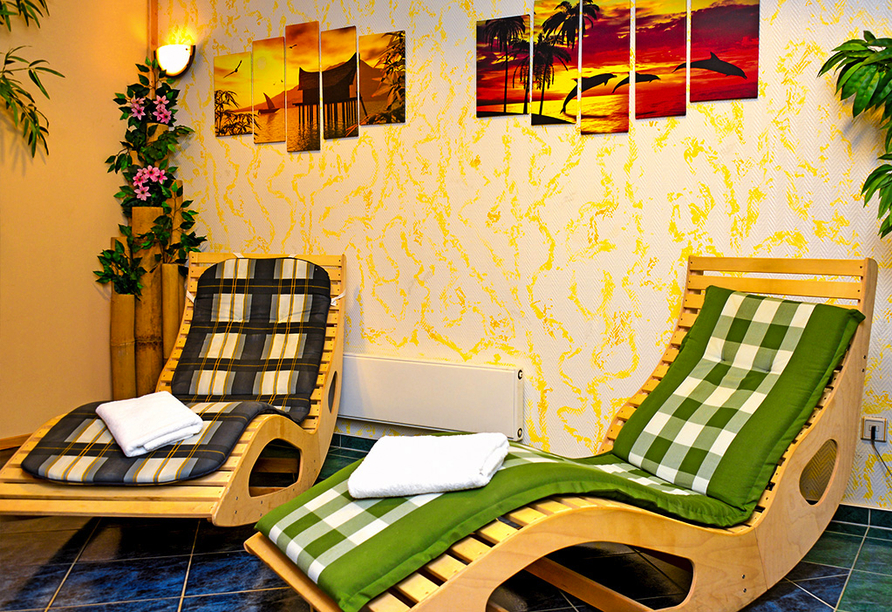 Hotel Kaiserhof in Fürstenwalde, Ruhebliegen