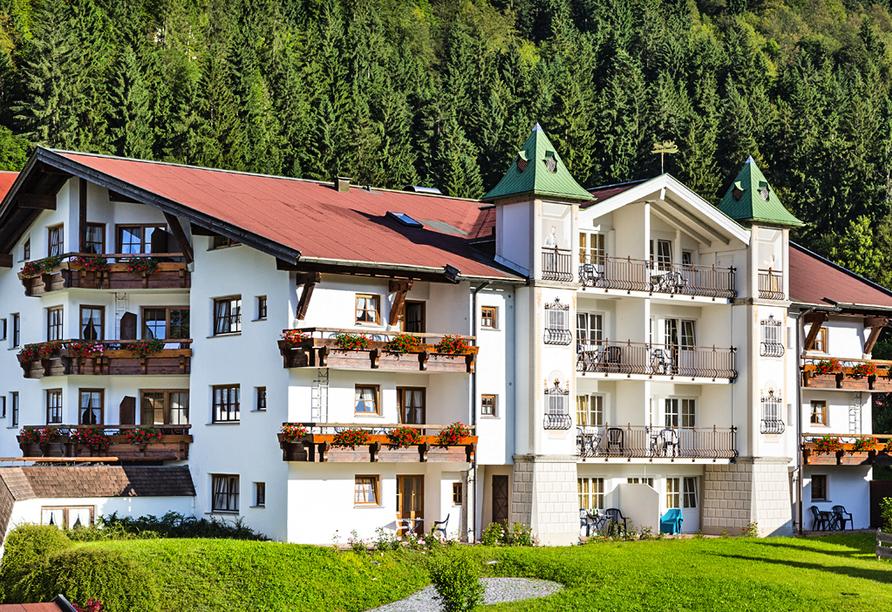 Alpenhotel Oberstdorf, Aussenansicht