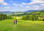 Alpenhotel Oberstdorf, Wanderwege