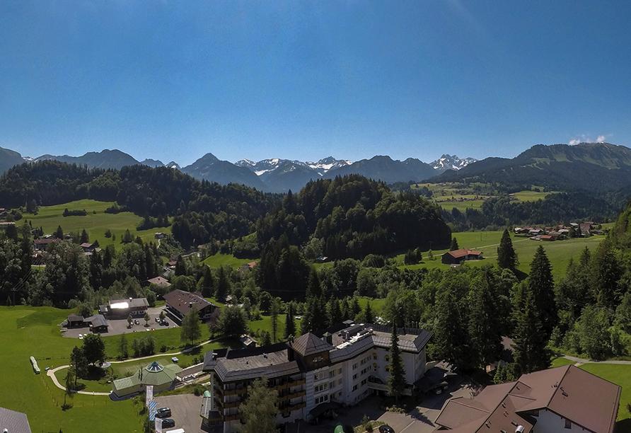 Alpenhotel Oberstdorf, Außenansicht