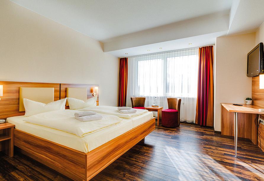 Ferien Hotel Rennsteigblick in Friedrichroda, Beispiel Doppelzimmer