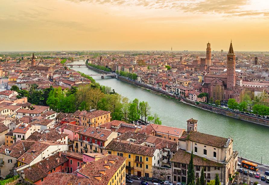 Hotel Internazionale in Torri del Benaco am Gardasee, Verona