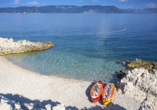 Hotel Mimosa in Rabac, Strand