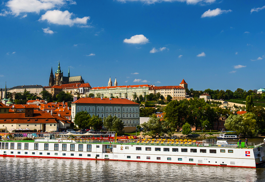 MS Florentina, Prag
