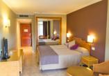 Beispiel eines Doppelzimmers im Hotel Palas Pineda