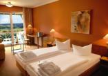 Thermenhotel Viktoria in Bad Griesbach, Beispiel Doppelzimmer Premium