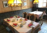 Gashof Genosko und Hotel Hubertushof, Speisesaal im Gasthof Genosko