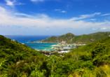Costa Fascinosa, Tortola