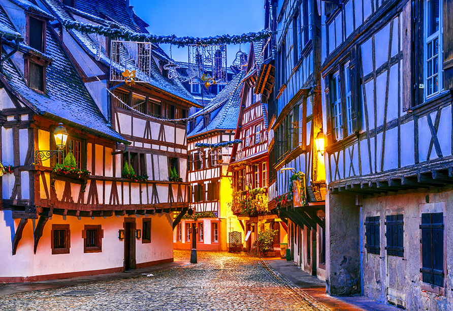 Hotel Des Princes, Straßburg, Elsass, Frankreich, Straßburg Winter