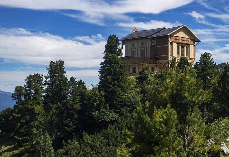 Wanderreise Starnberger See und Garmisch, Jagdschloss König Ludwig