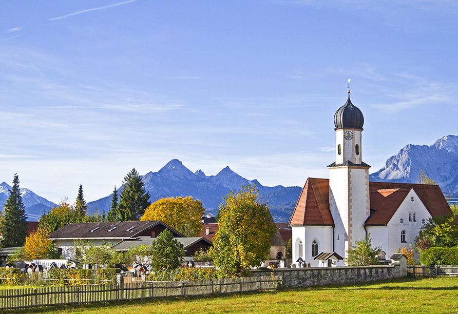 Wanderreise Starnberger See und Garmisch, Wallgau