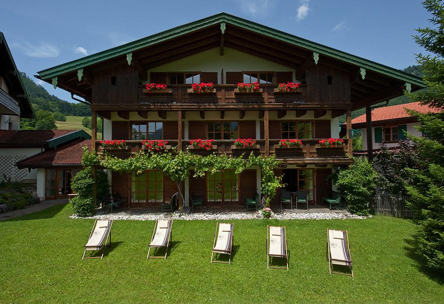 Landhotel Maiergschwendt, Garten